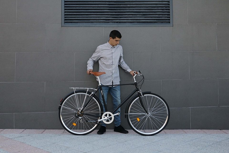 fabric city bike