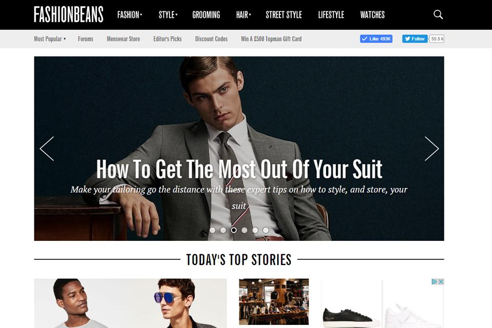 fashionbeans blog anglais homme