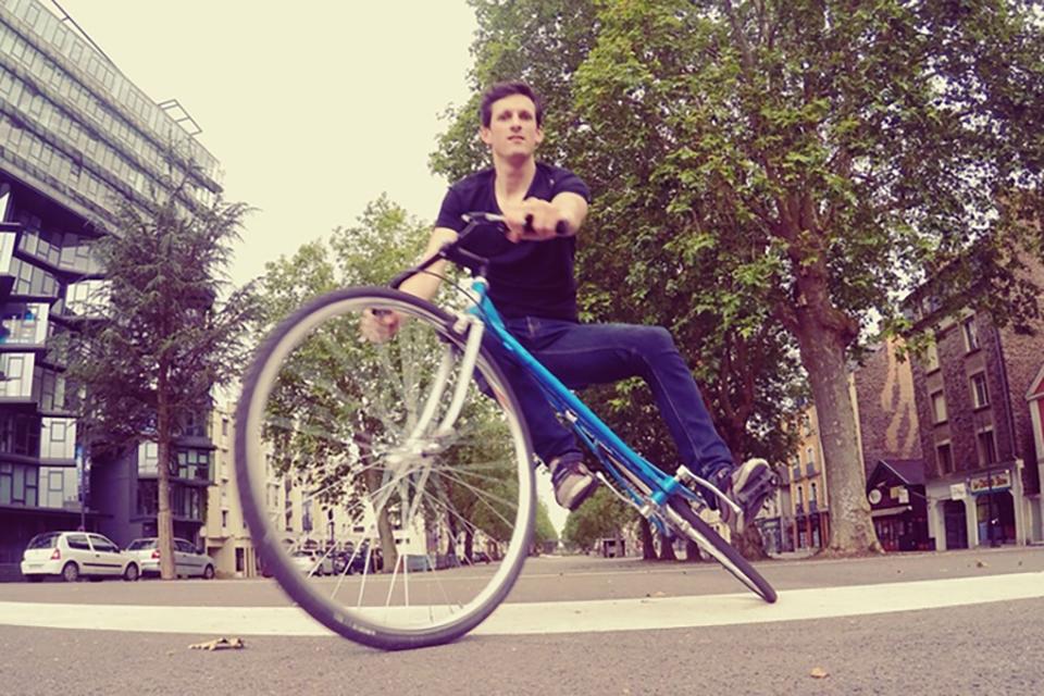 fixie trocadero bike velo