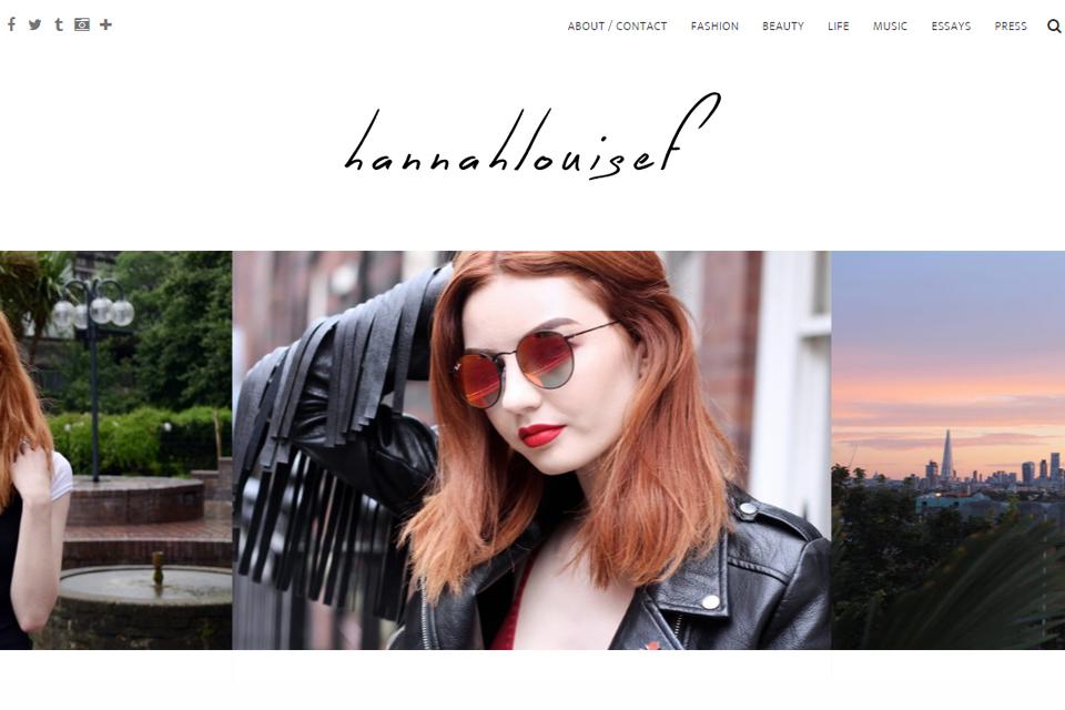 hannah louise blog anglais