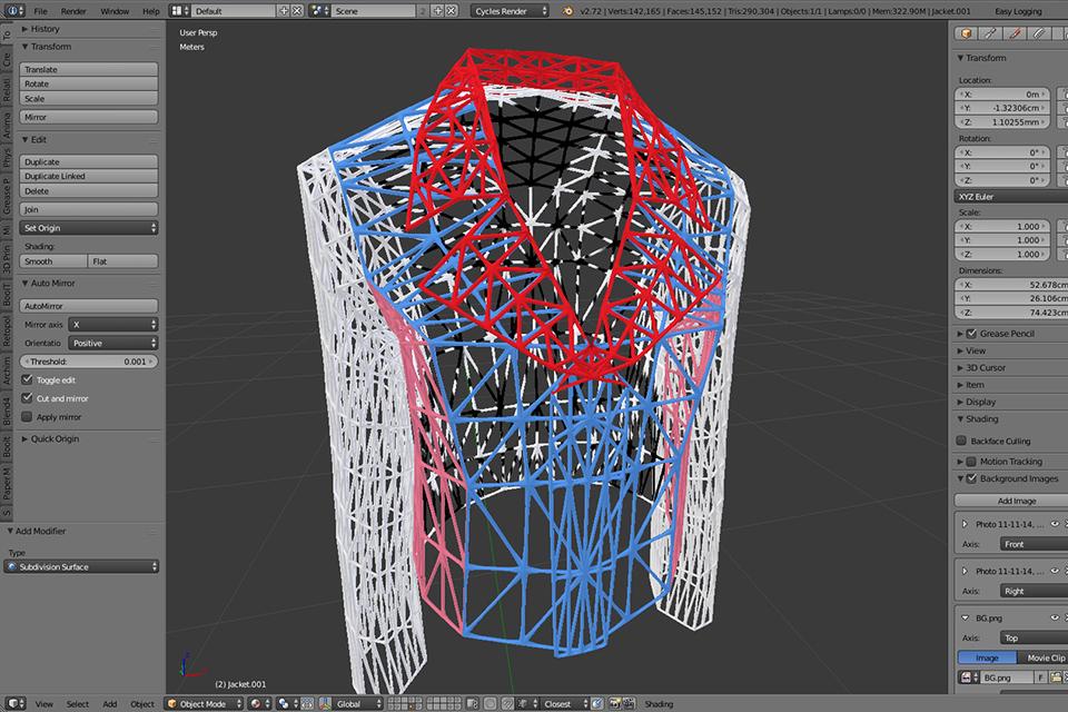 making 3D suit imprimante logiciel