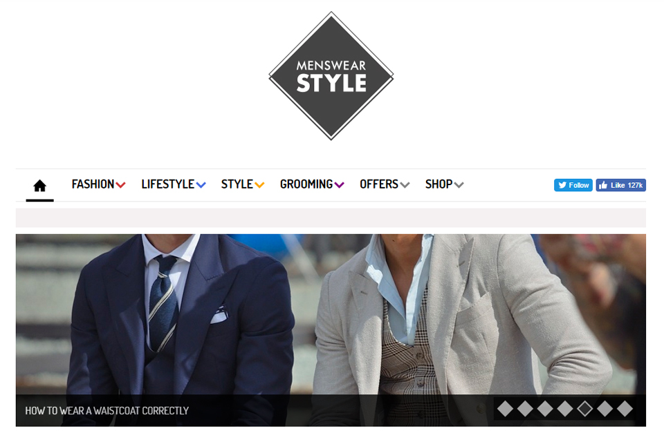 menswear style blog anglais