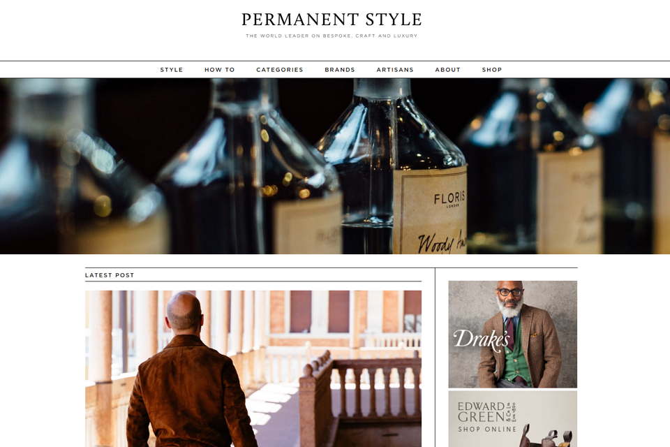 permanent style blog anglais homme