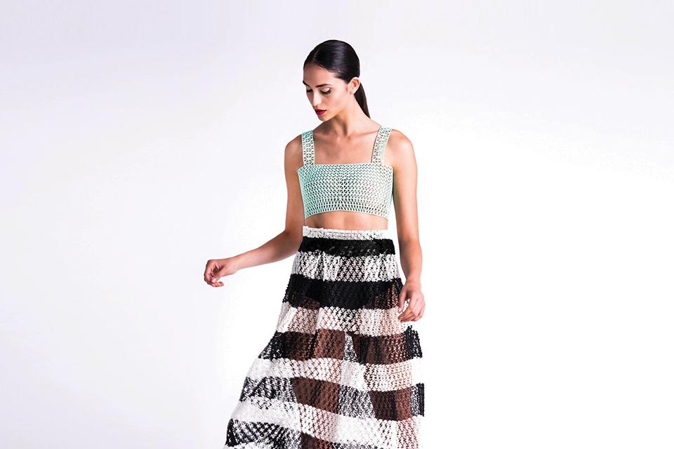 robe imprimante 3D print dress