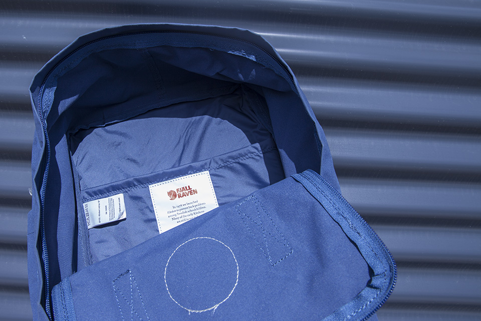sac à dos fjallraven kanken laptop logo bag