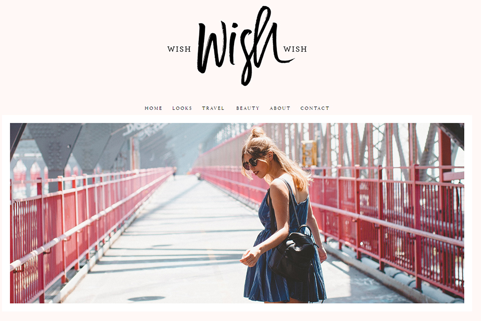 wish wish wish blog anglais