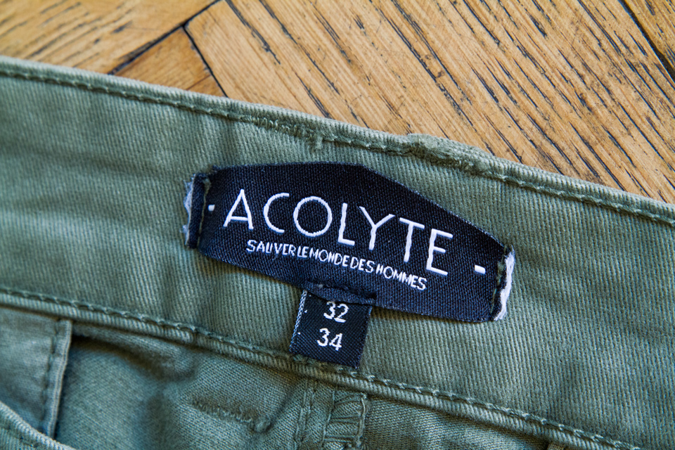 acolyte marque homme