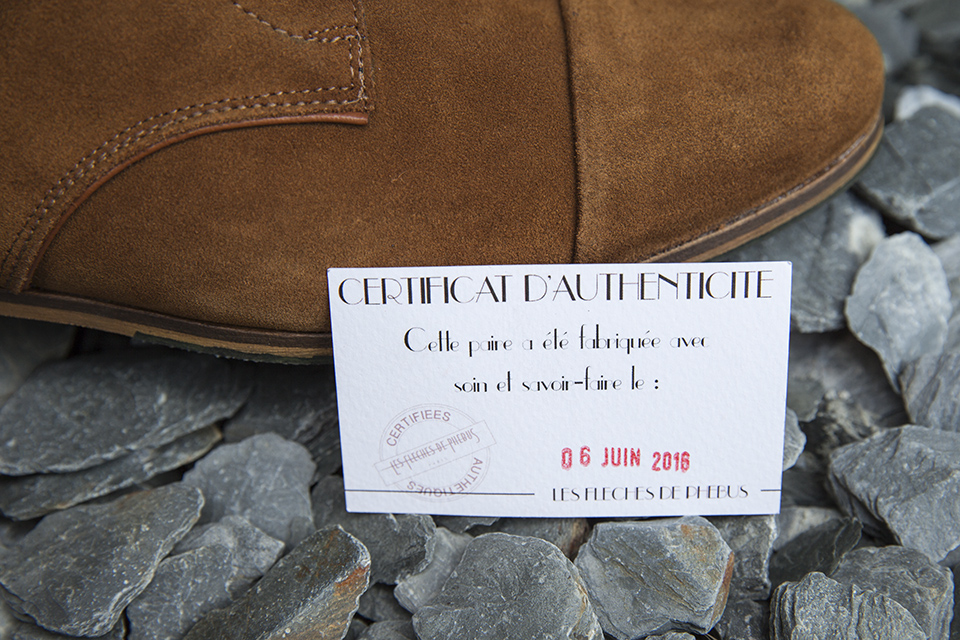 Boots Fleches de Phebus Thom Certificat