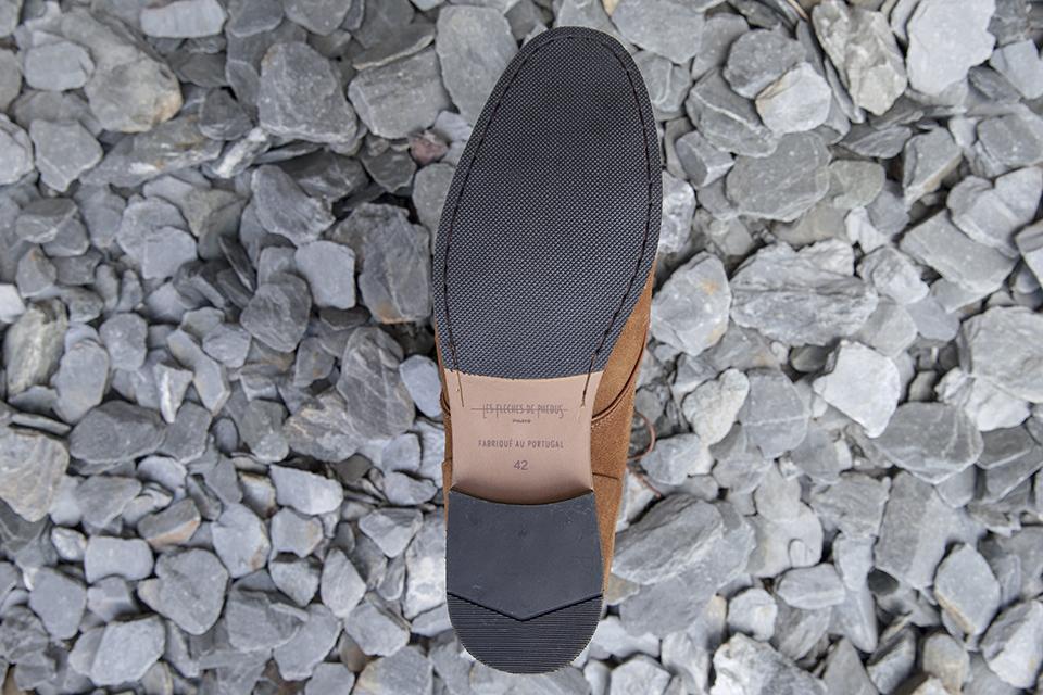 Boots Fleches de Phebus Thom semelles