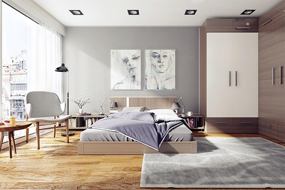 chambre maison paisible