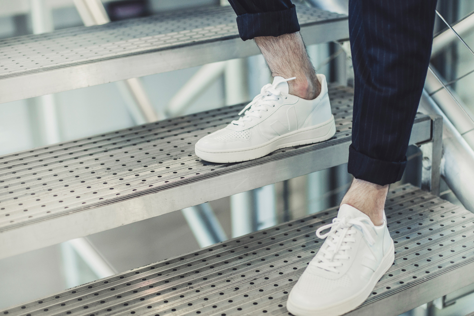 chaussures veja blanches