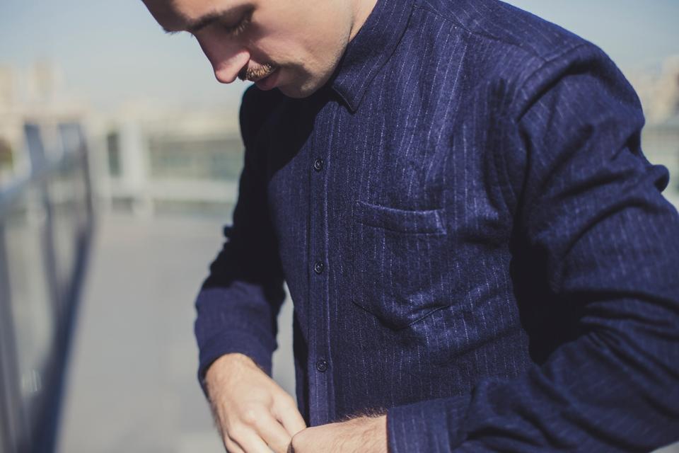 chemise rayee balibaris