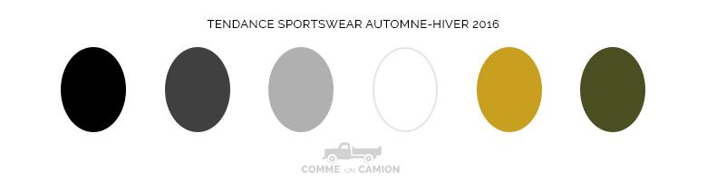 couleurs tendance sportswear 2016