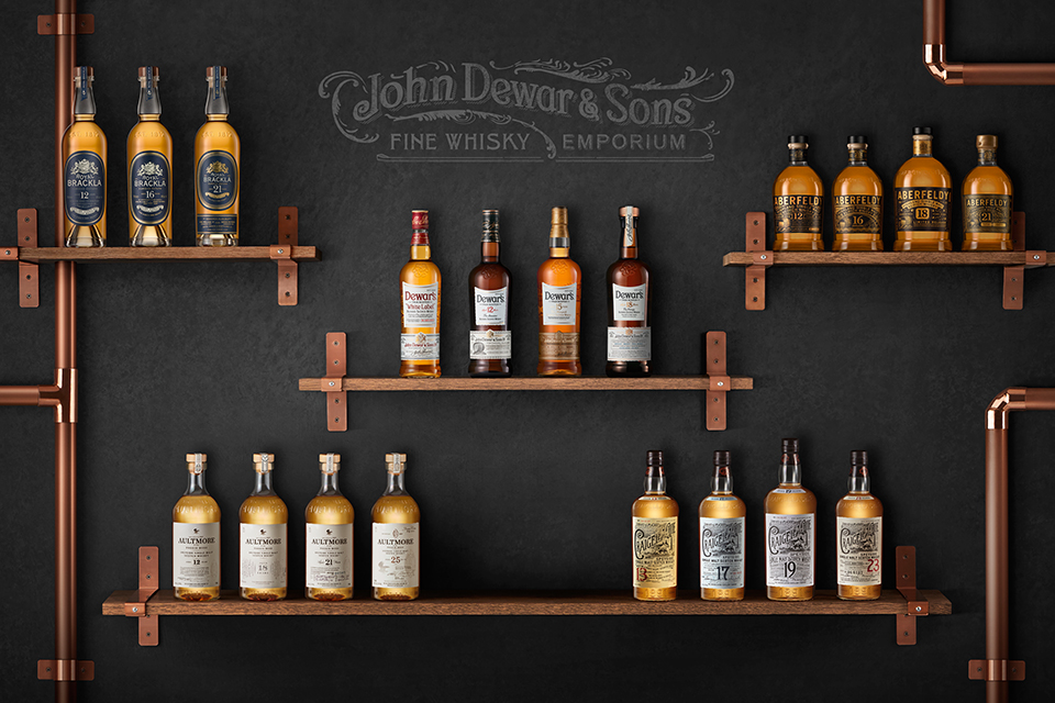 john dewar sons whiskys