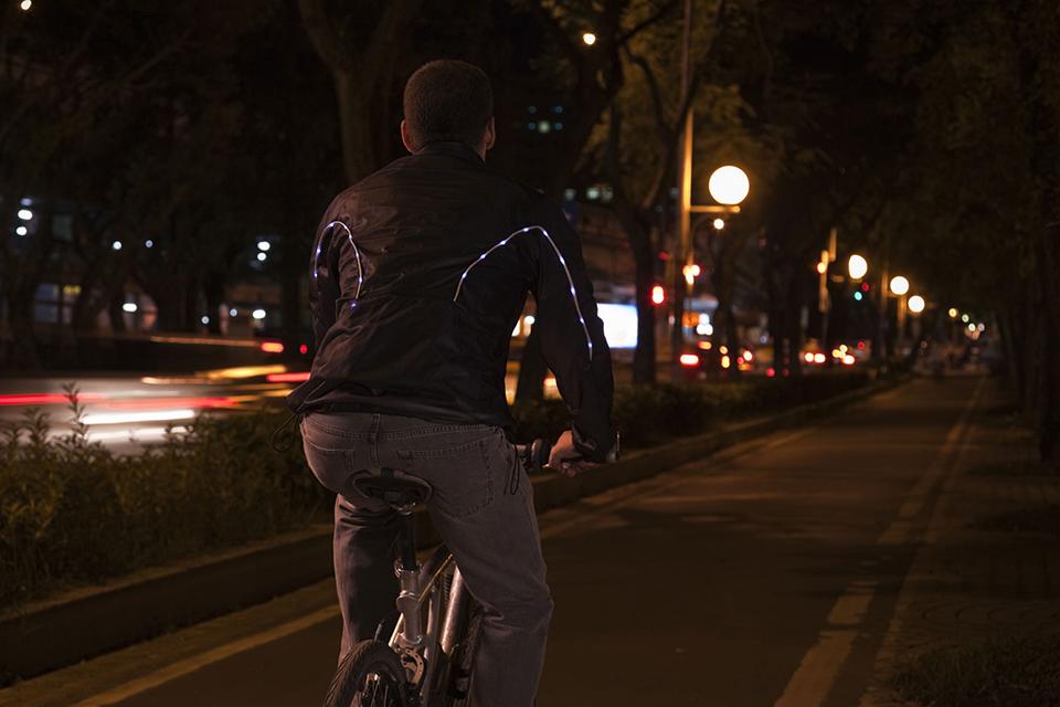 light jacket smart clothing