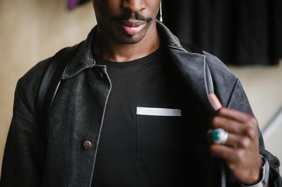 look sega marche noir homme basus t-shirt