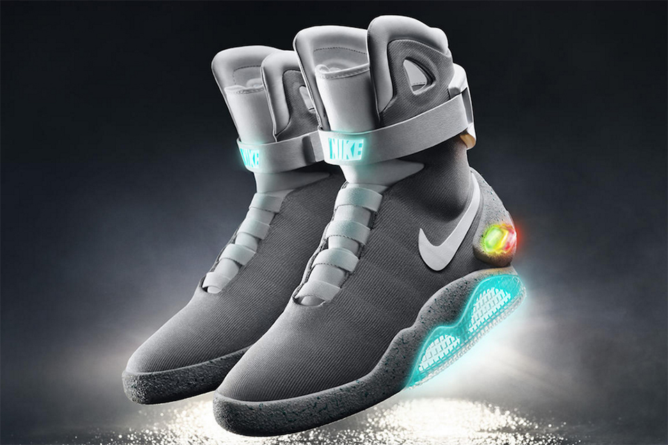 nike mags back to the future