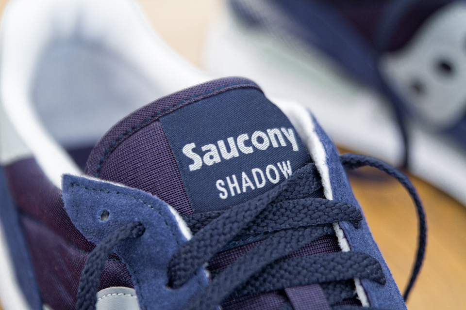 baskets Saucony Shadow Original languette