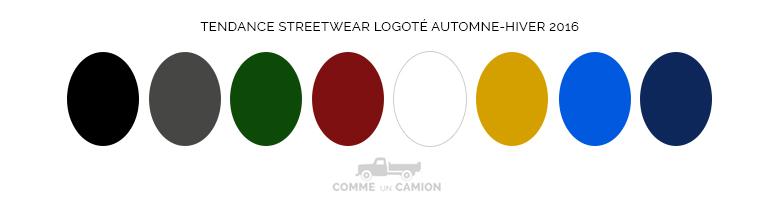 streetwear logo couleurs ah16