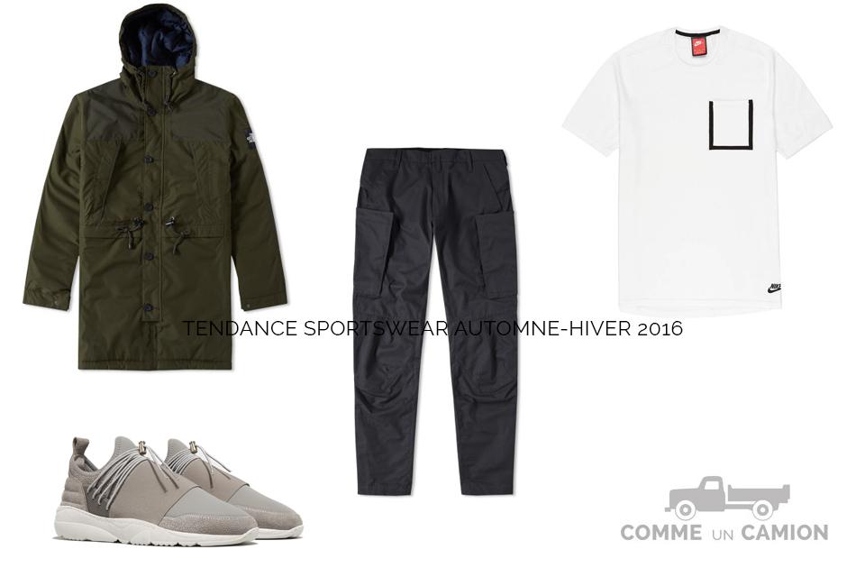 tendance sportswear look ah16