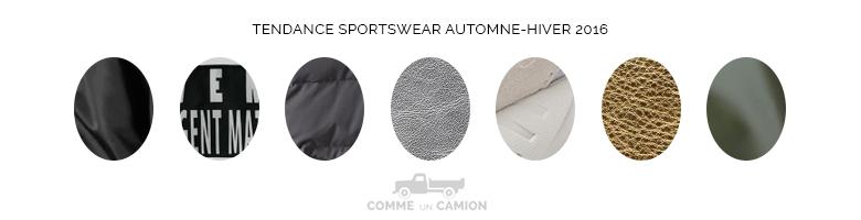 tendance sportswear motifs 2016
