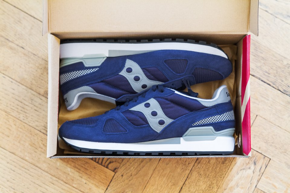 unboxing saucony shadow original