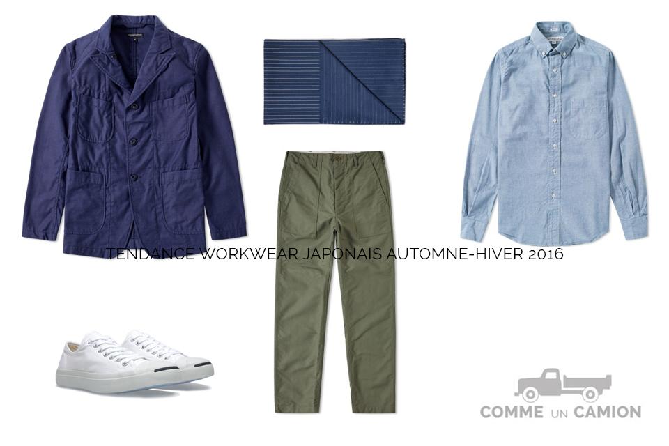 workwear japonais look ah16
