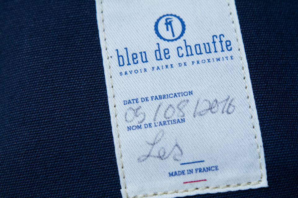 bleu de chauffe made in france