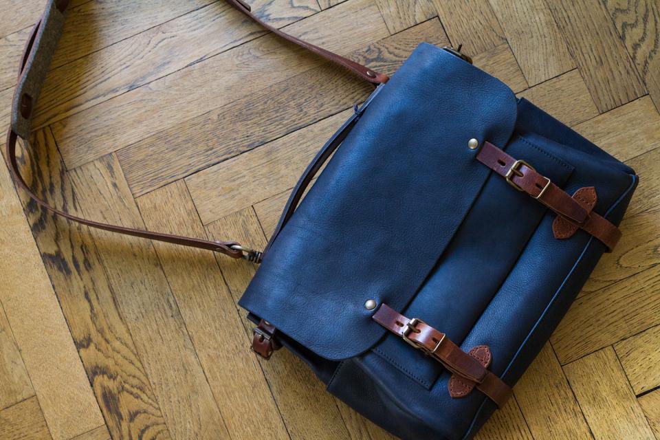 bleu de chauffe sac postier éclair