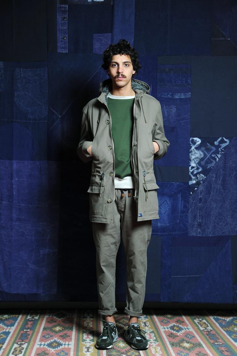 bleu de paname ah16 parka sportswear