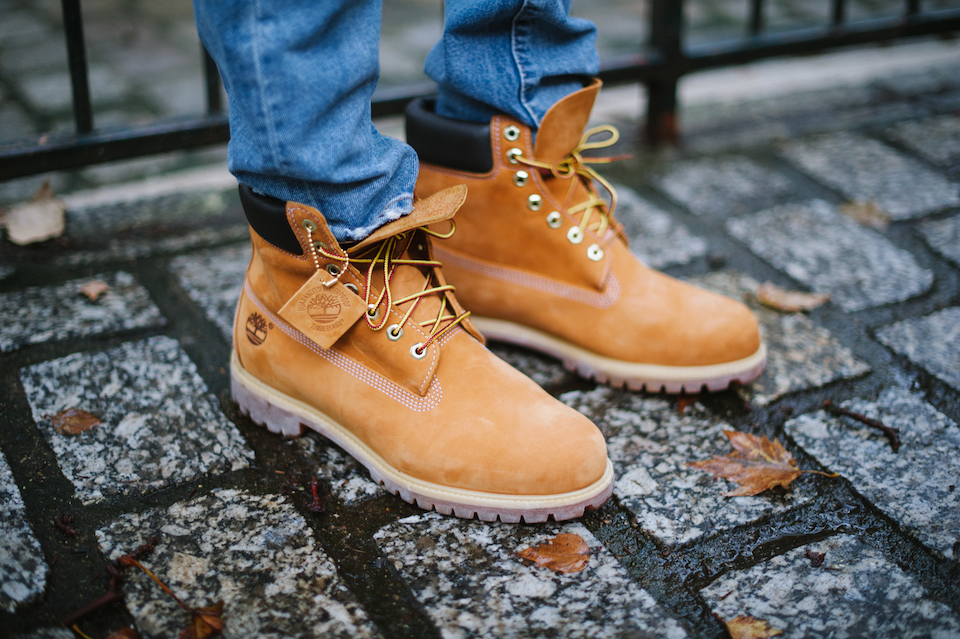 Boots Timberland camel