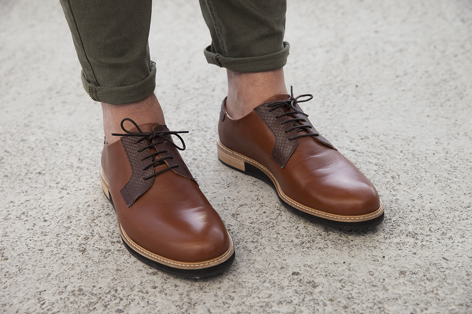 chaussures subtle shoes chino kaki