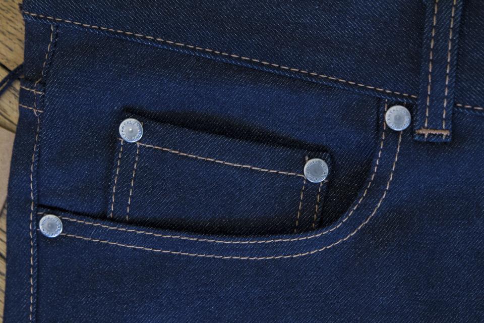 coin pocket rivets plats