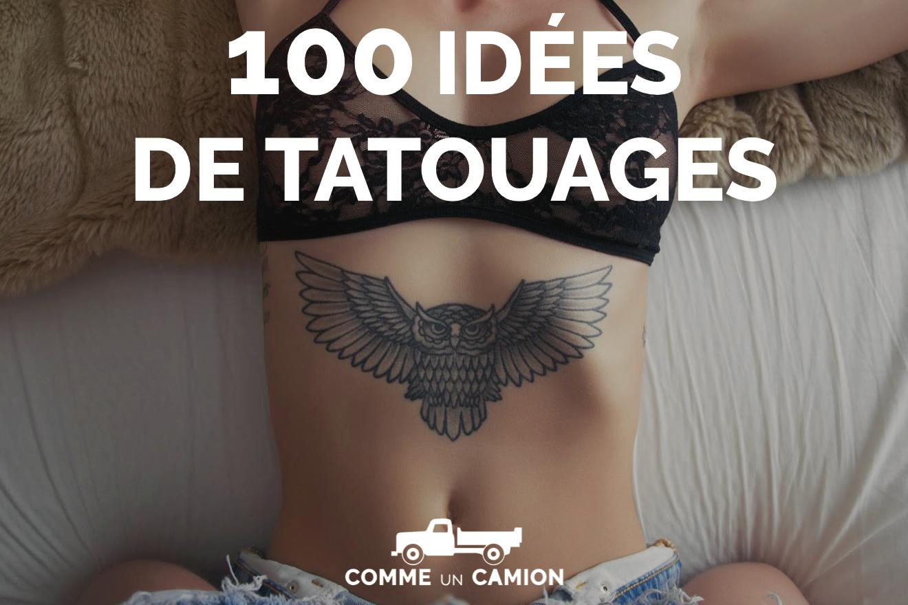 guide des 100 id es de tatouages. Black Bedroom Furniture Sets. Home Design Ideas