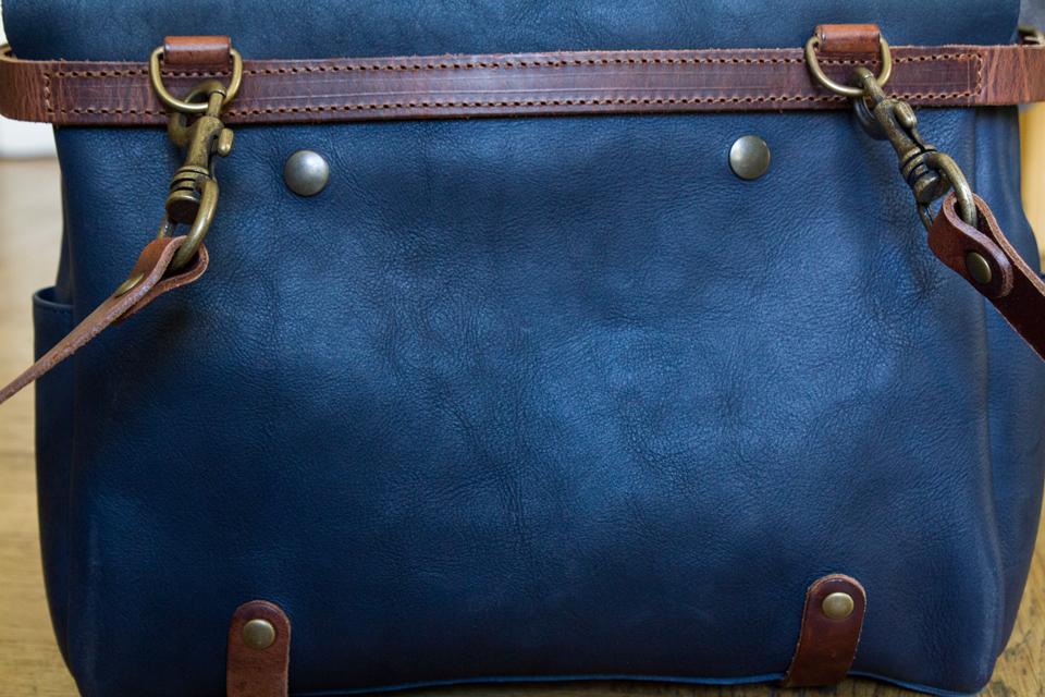 dos sac bleu de chauffe