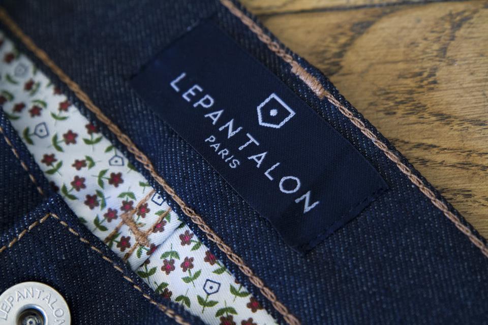 etiquette le pantalon marque