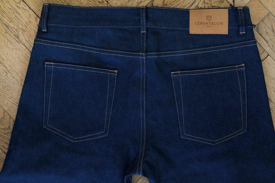 Jeans selvedge le pantalon avis