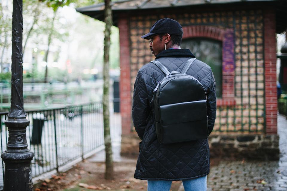 Look sac à dos noir