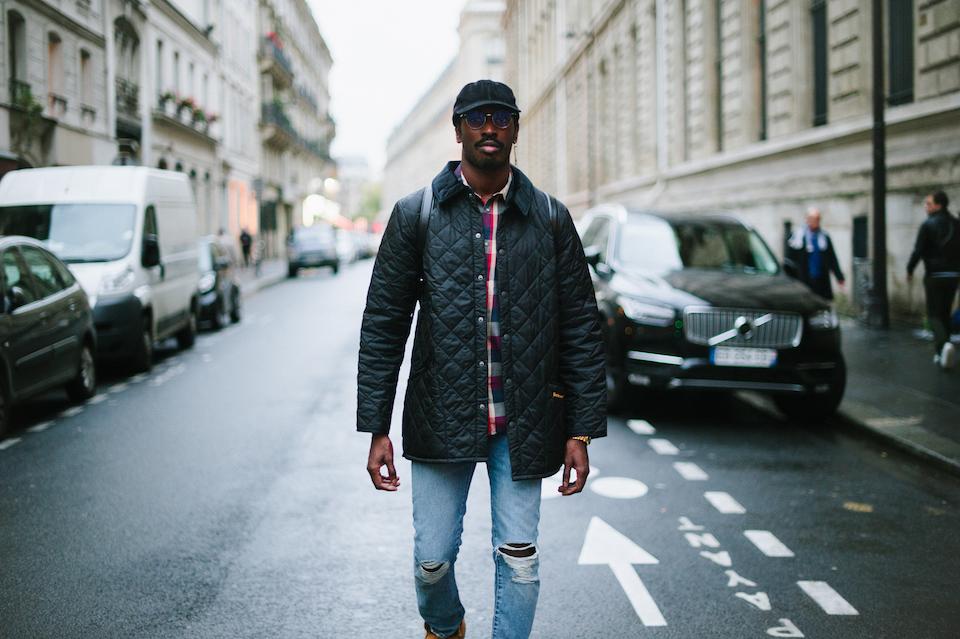 Look Barbour Paris