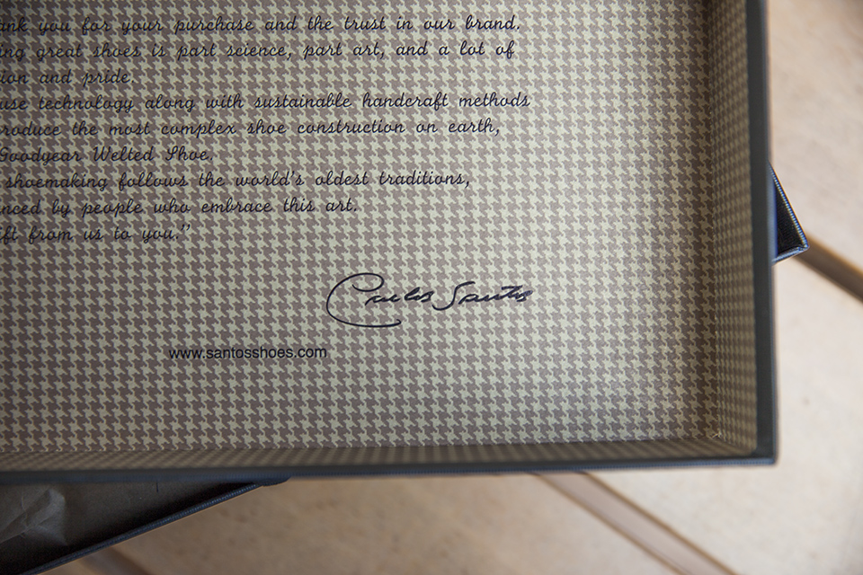 Carlos Santos Signature boite
