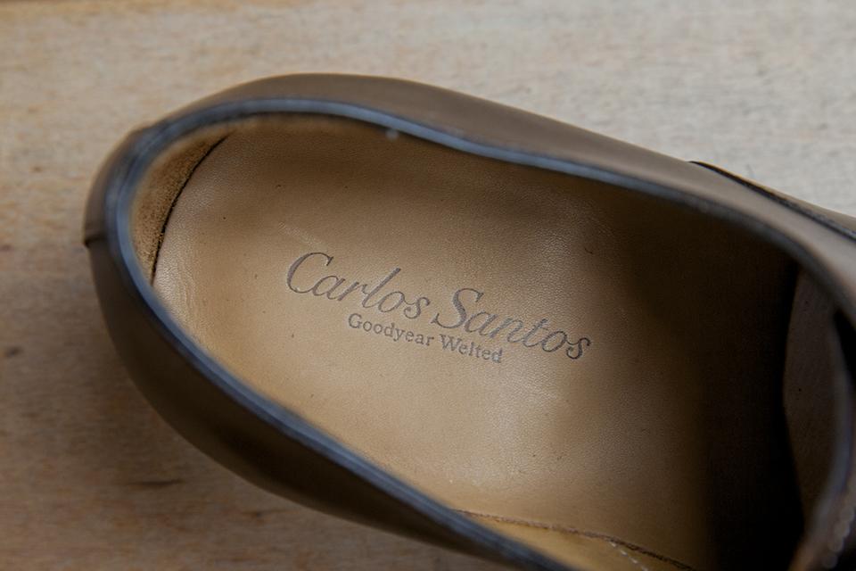 Richelieu Carlos Santos semelle confort