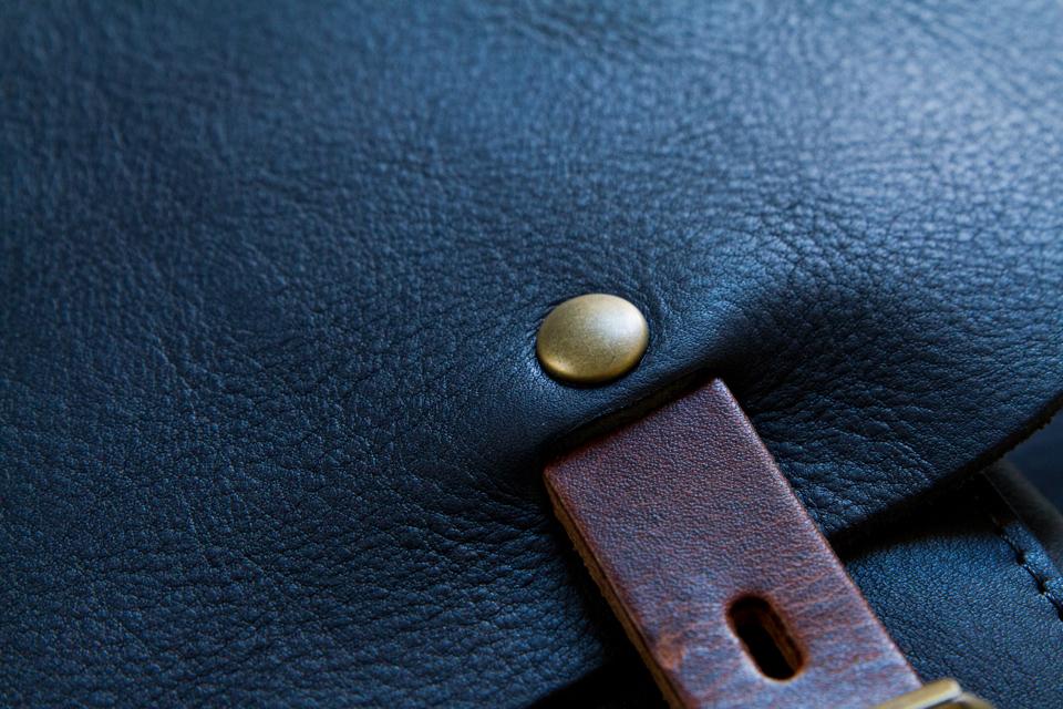 rivets sac bleu de chauffe