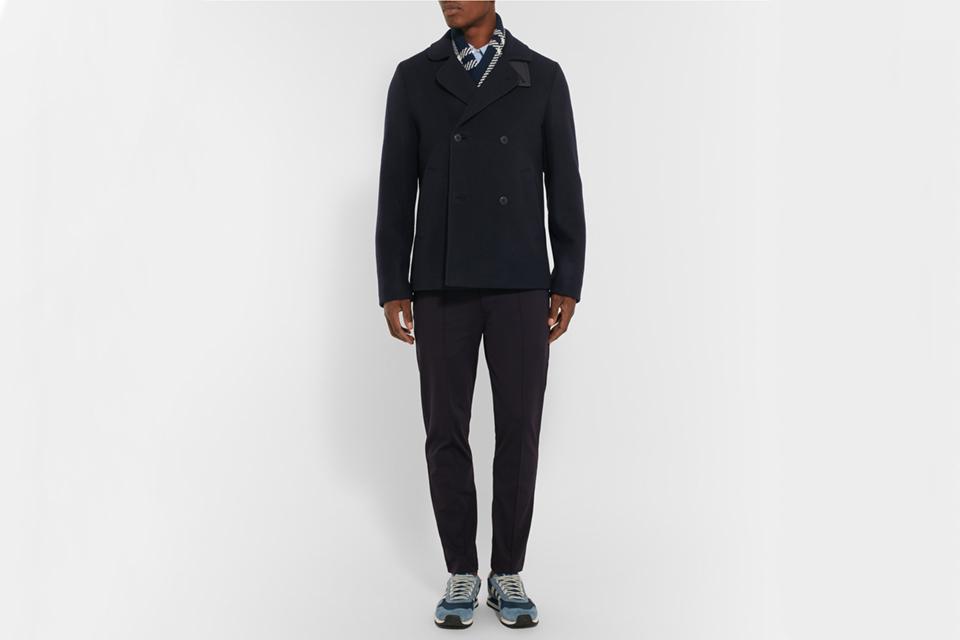silhouette caban homme sportswear