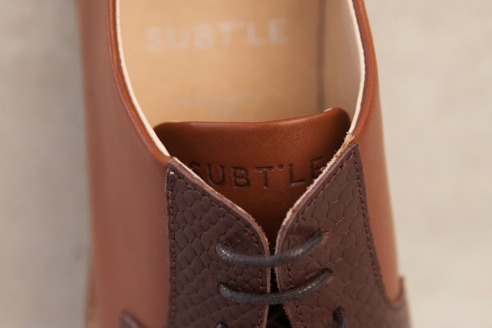 subtle shoes chaussures logo languette