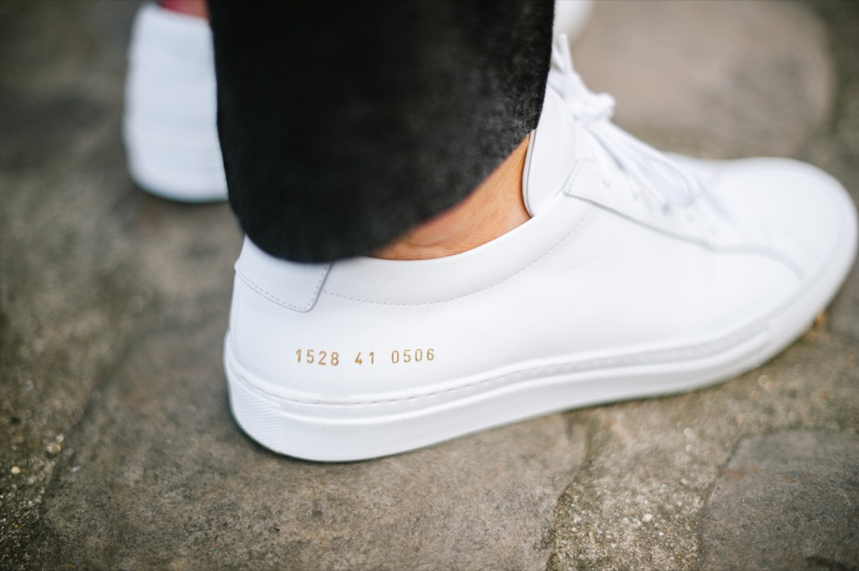 Common Projects Achille Blanche