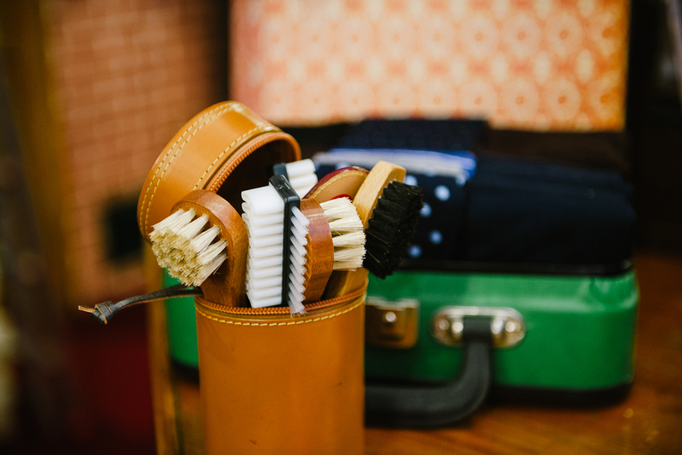 accessoires chaussures brosse soin