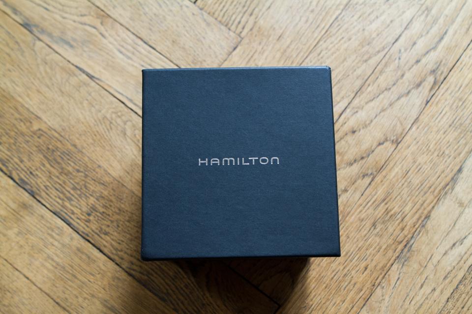 boite montre hamilton