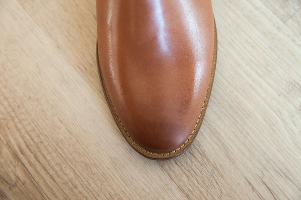bout pointu chelsea boots pied de biche