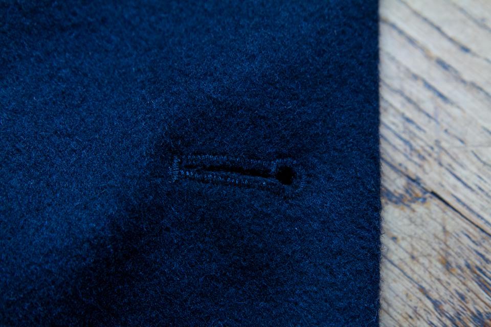 bouton couture manteau river island