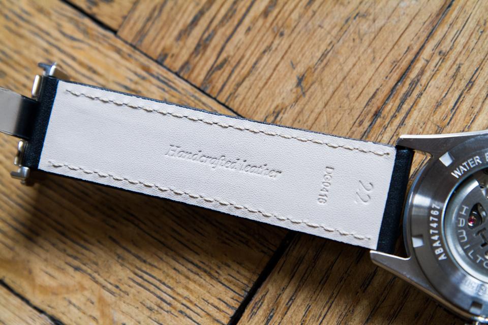 bracelet hamilton cuir fait main